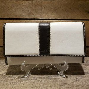 Coach Trifold Wallet With Checkbook Case